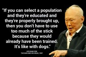 Lee Kuan Yew dogs